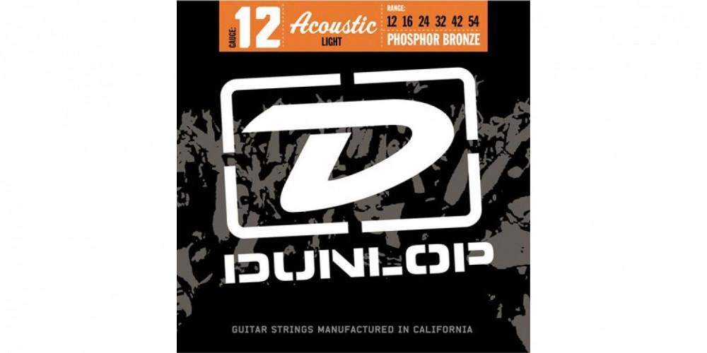 Dunlop Stålsträngar 12-54