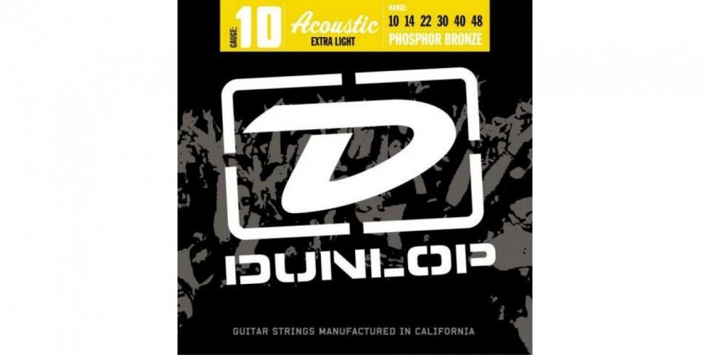 Dunlop Stålsträngar 10-48