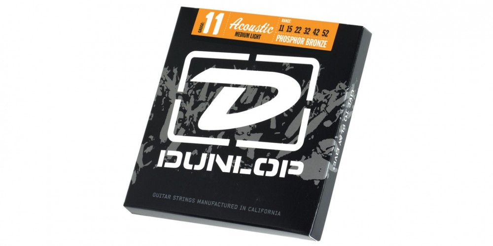 Dunlop Stålsträngar 11-52