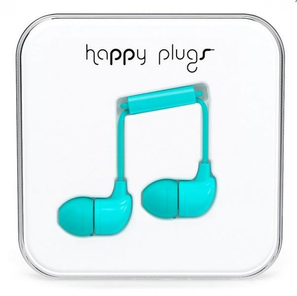 HAPPY PLUGS IN-EARTURQUOISE