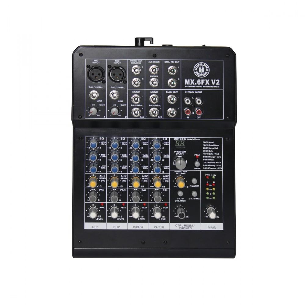 Topp Pro MX6 FX V2 - Mixerbord