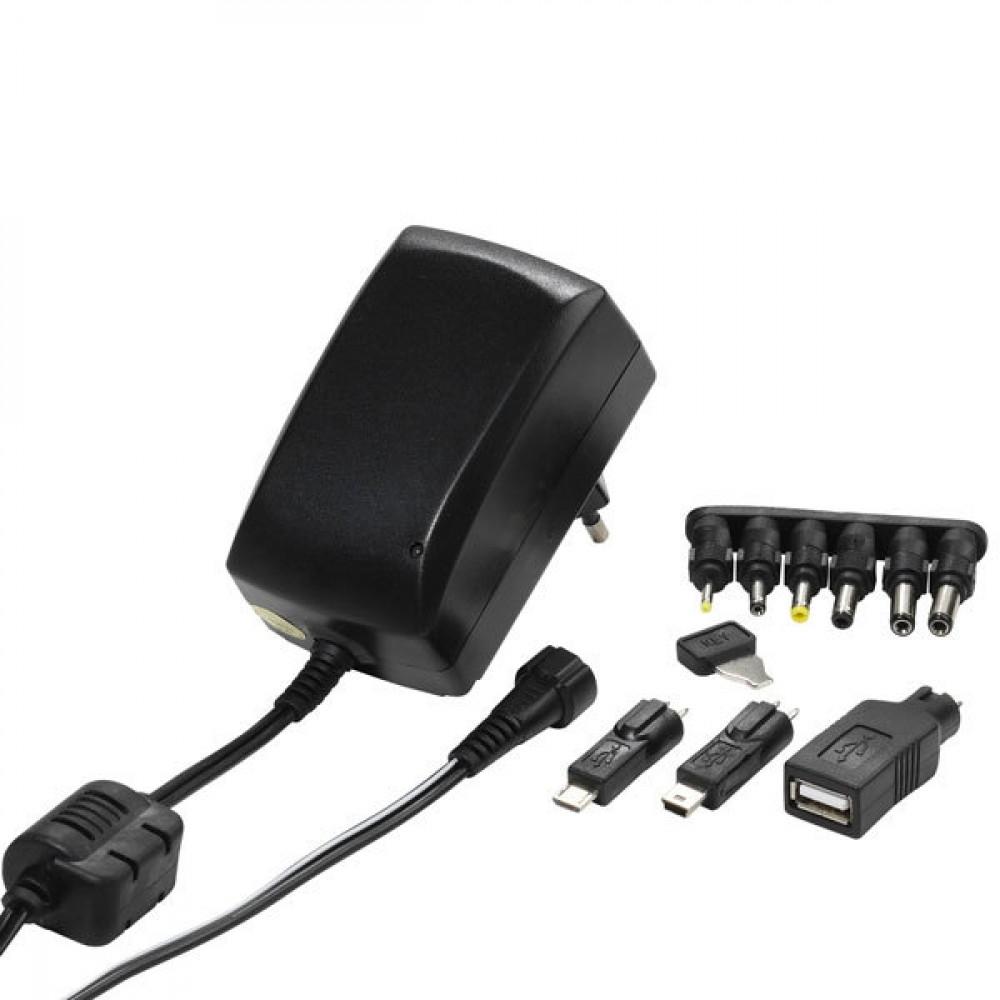 Vivanco PAH 30 AC/DC Universell adapter, 3-12V+ US