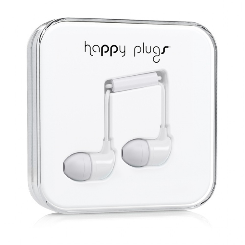 Happy Plugs HAPPY PLUGS IN-EAR WHITE
