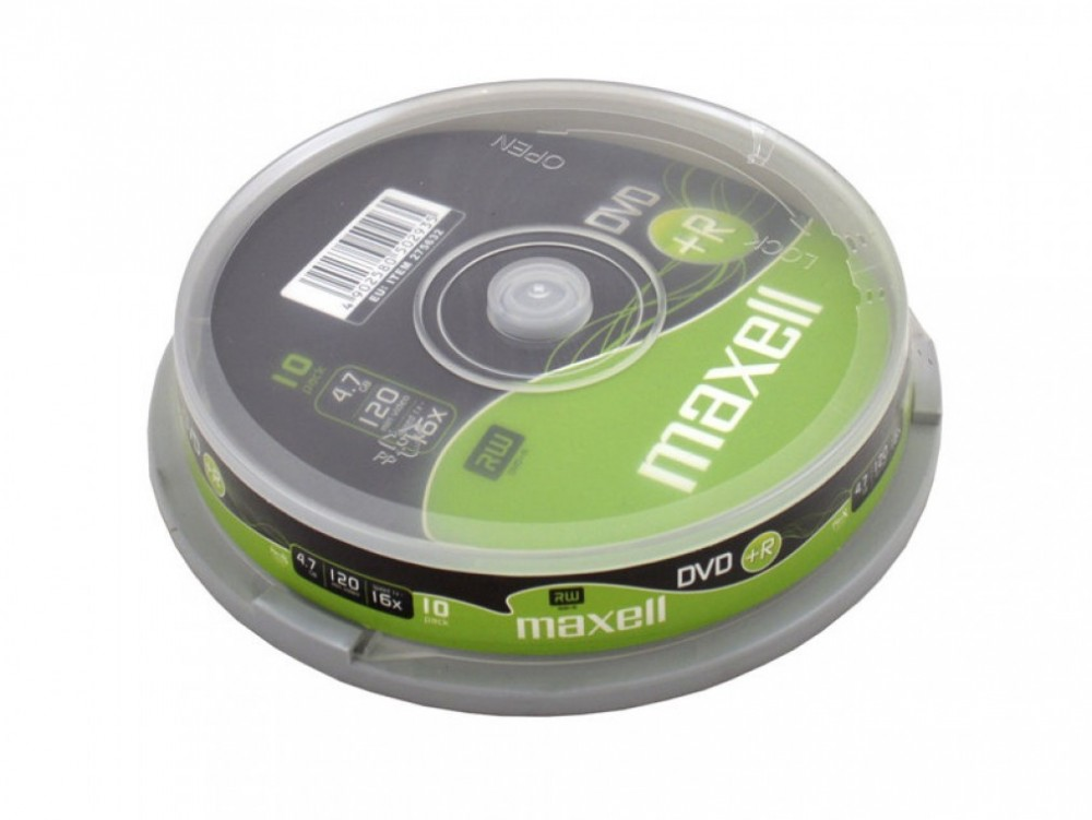 Maxell DVD+R 4.7GB 16X 10-P