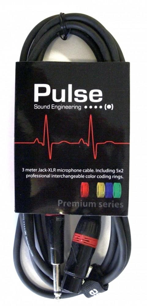 Pulse Mikrofonkabel XLR-Tele 3m