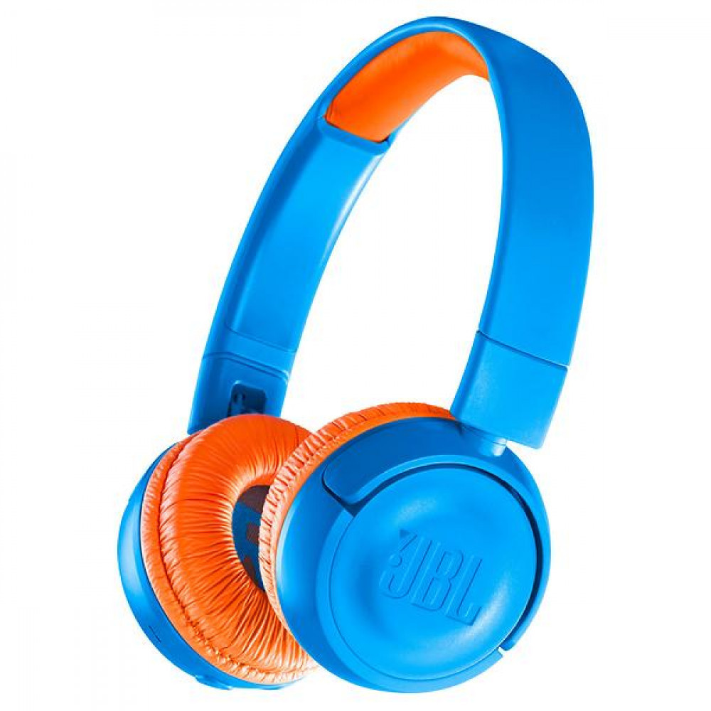 JBL JR300BT - Blå/Orange