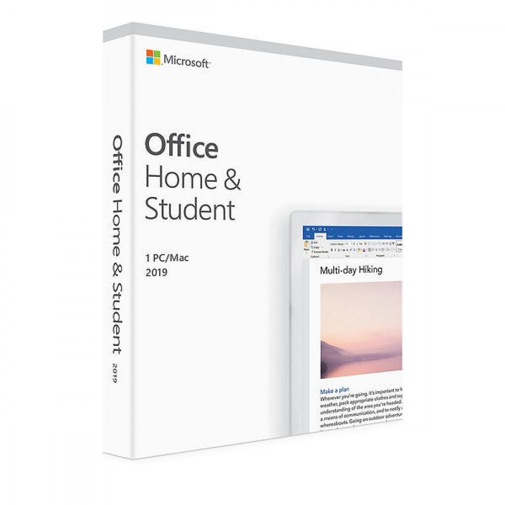MICROSOFT MICROSOFT OFFICE HOME & STUDENT 2019