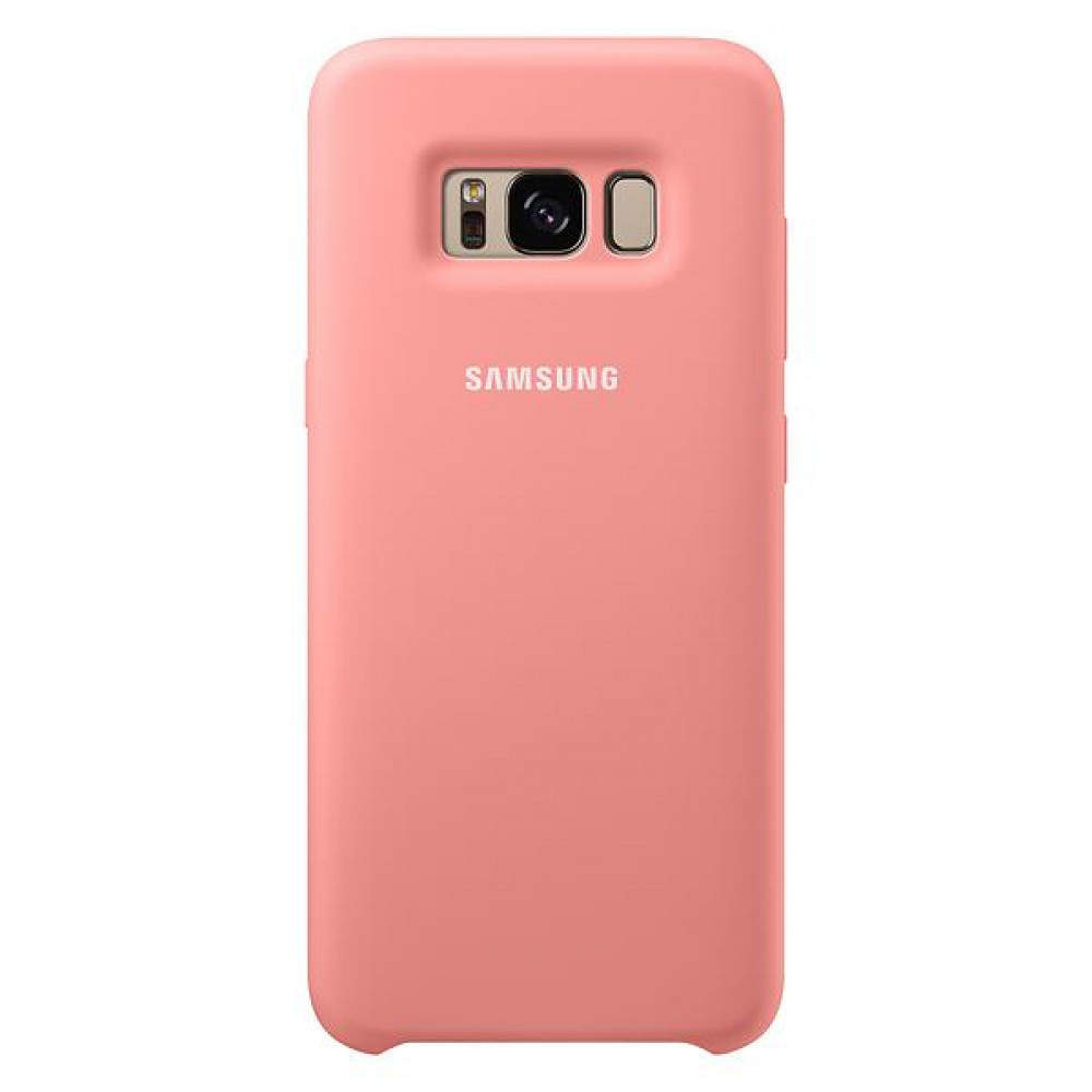 Samsung Galaxy S8 Silicone Cover Pink