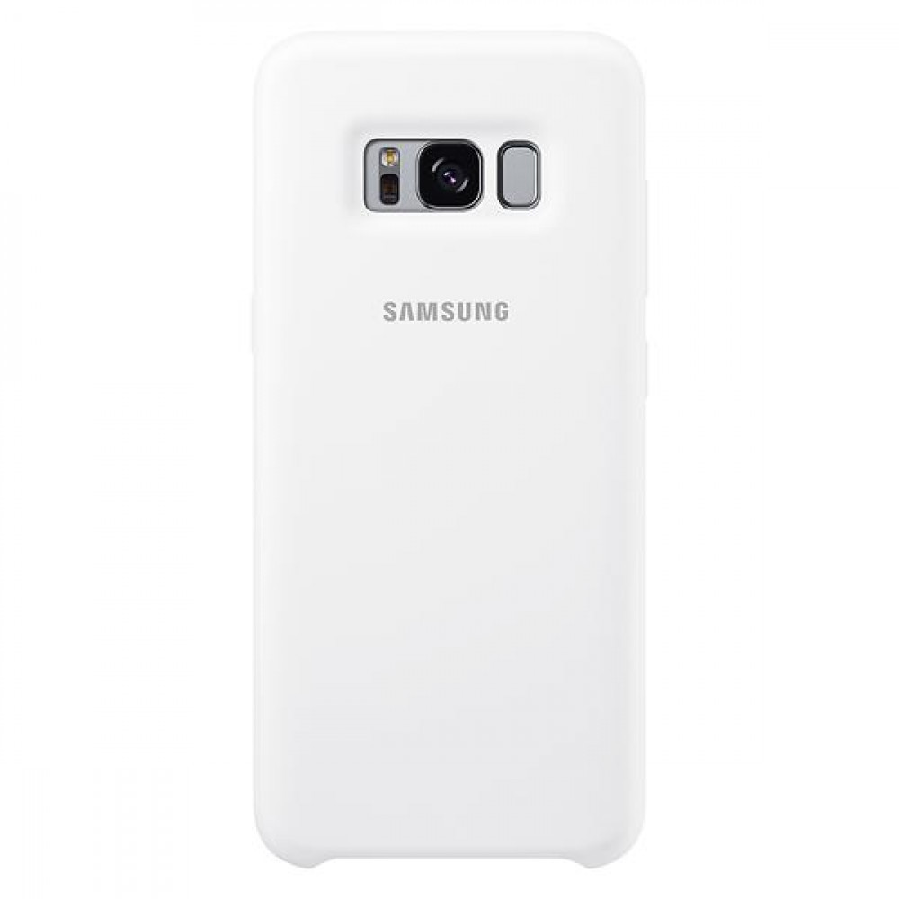 Samsung Galaxy S8 Silicone Cover White