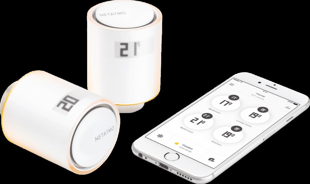 Netatmo by Starck Smart termostat starpaket NVPEN