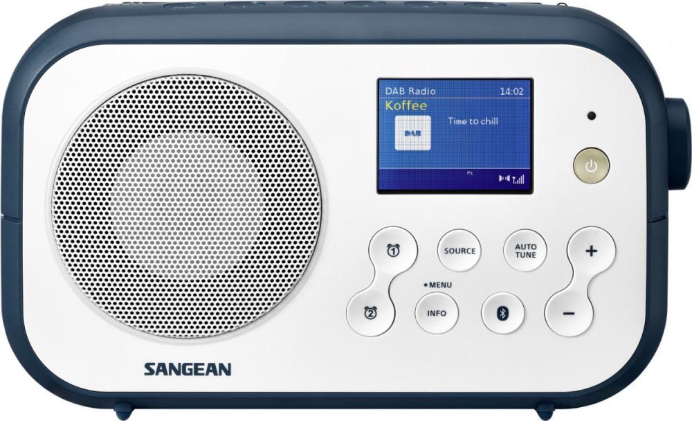 SANGEAN DPR-42BT WHITE-STONE BLUE