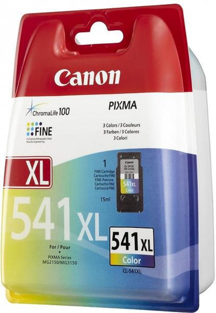 Canon CL-541XL cyan, magenta, gul