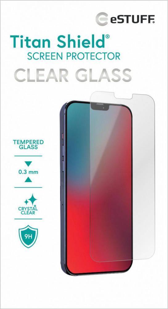 eStuff TITAN SHIELD CLEAR GLASS IPHONE 12 MINI