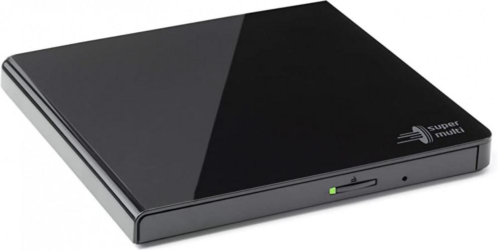 Hitachi-LG Portabel DVD-läsare/brännare - Svart