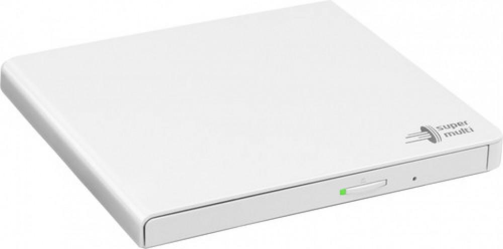 Hitachi-LG Portabel DVD-läsare/brännare - Vit