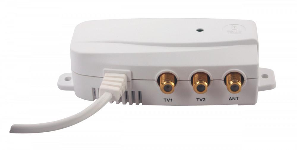 Triax IFP 102 nätdel, 2 utgångar LTE 700 PSU, 12V/100mA