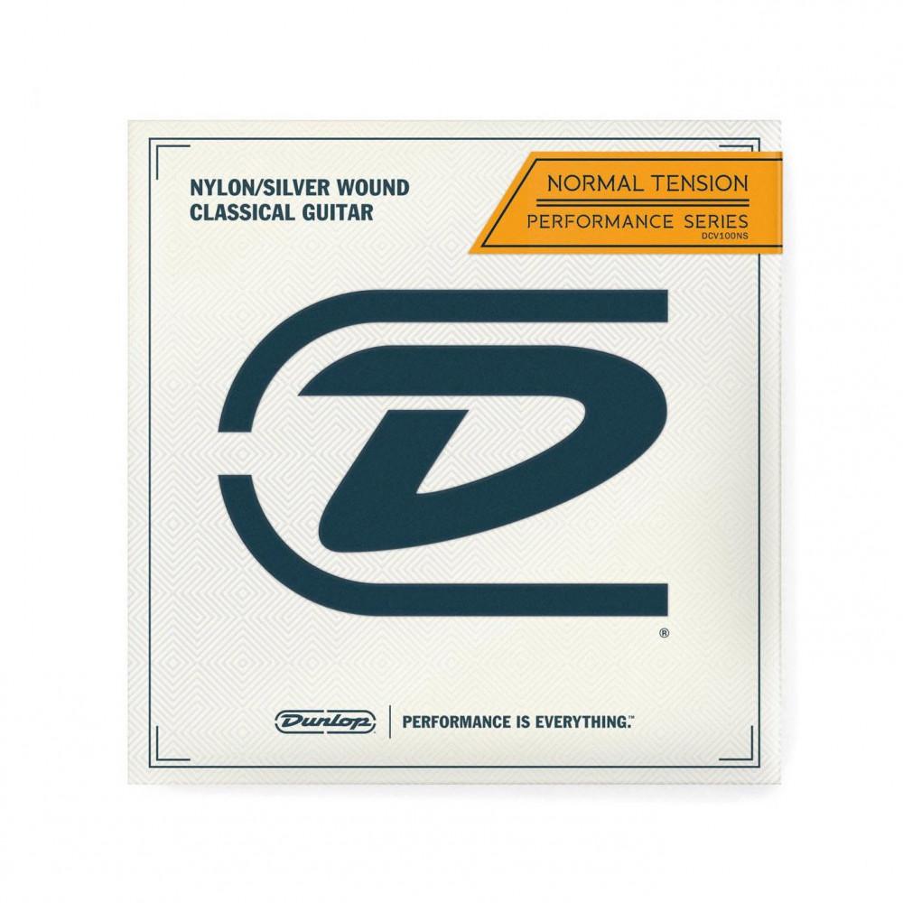Dunlop DCV100NS CRYSTAL/ SILVER WOUND