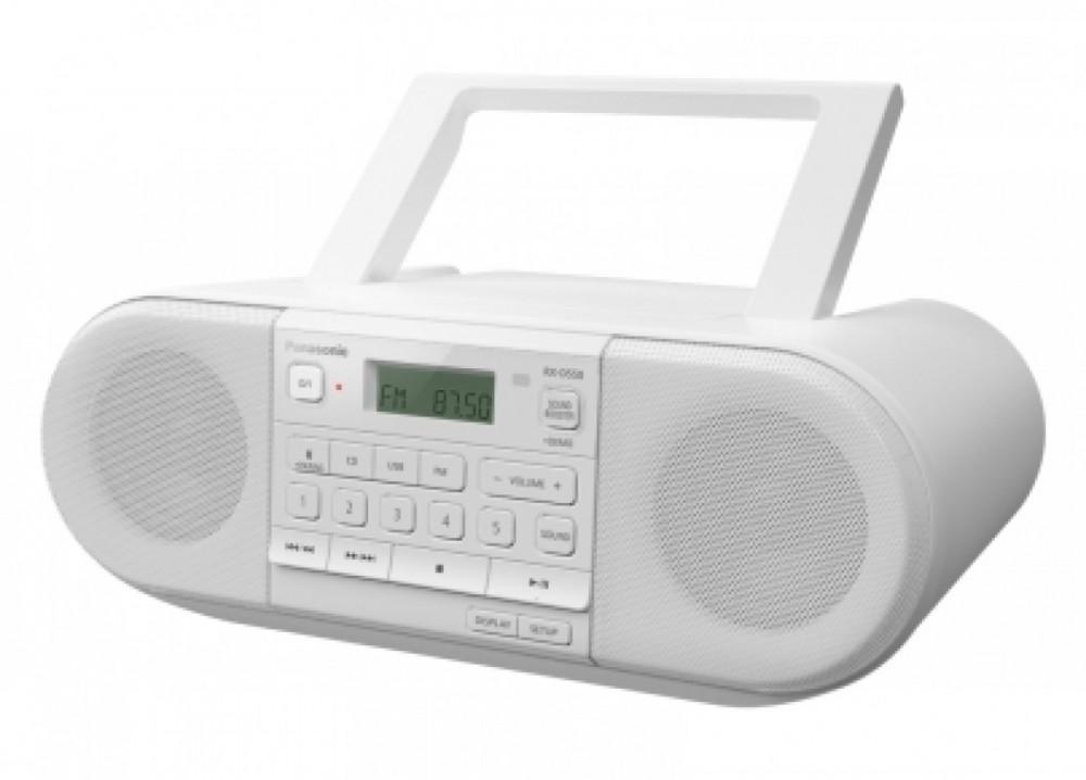Panasonic RX-D550E-W