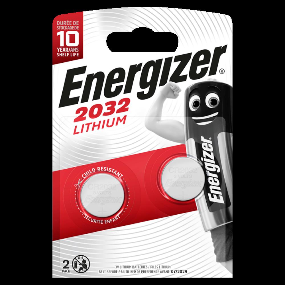 ENERGIZER Lithium CR2032 2-pack