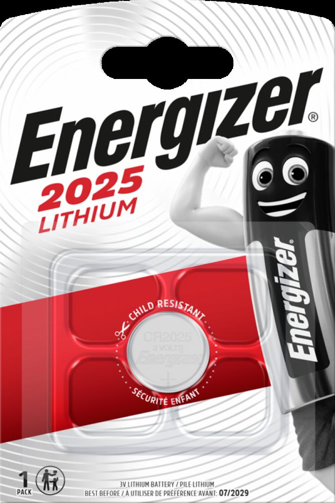 ENERGIZER Lithium CR2025 1-pack