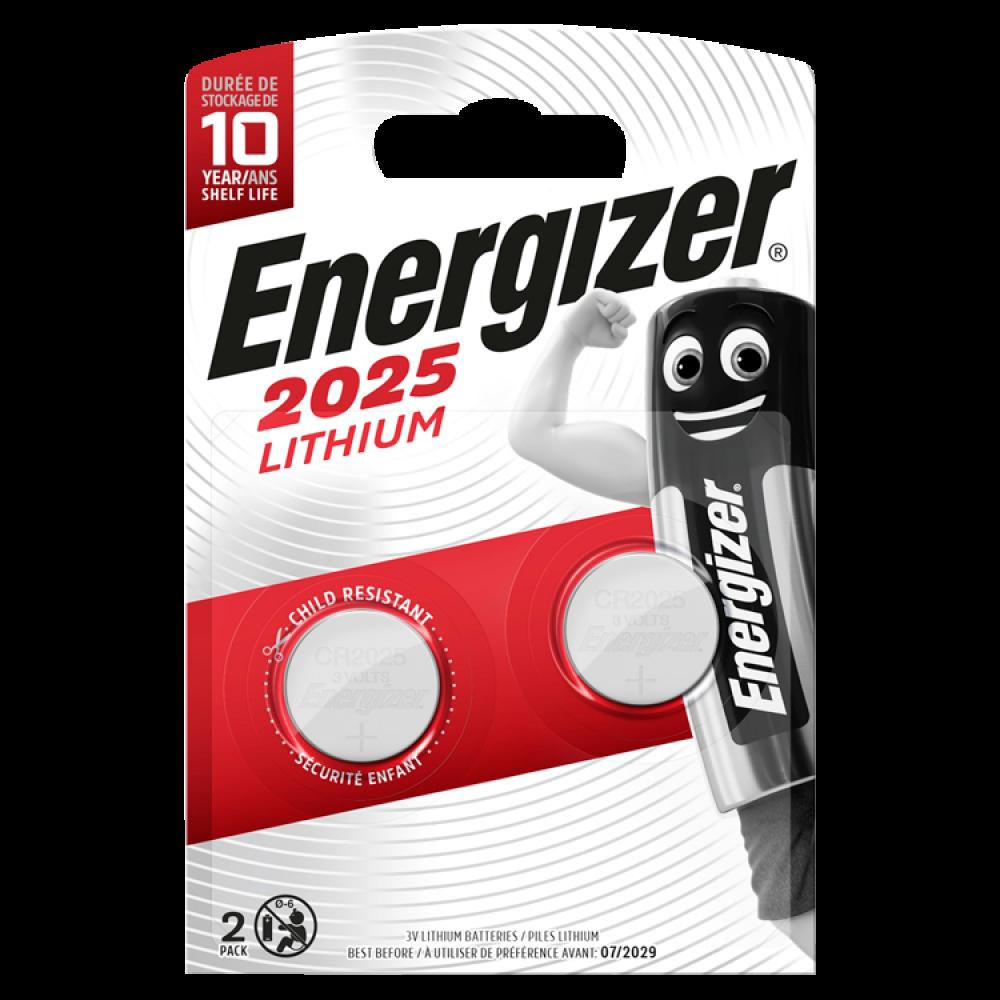 ENERGIZER LITHIUM CR2025 2-pack