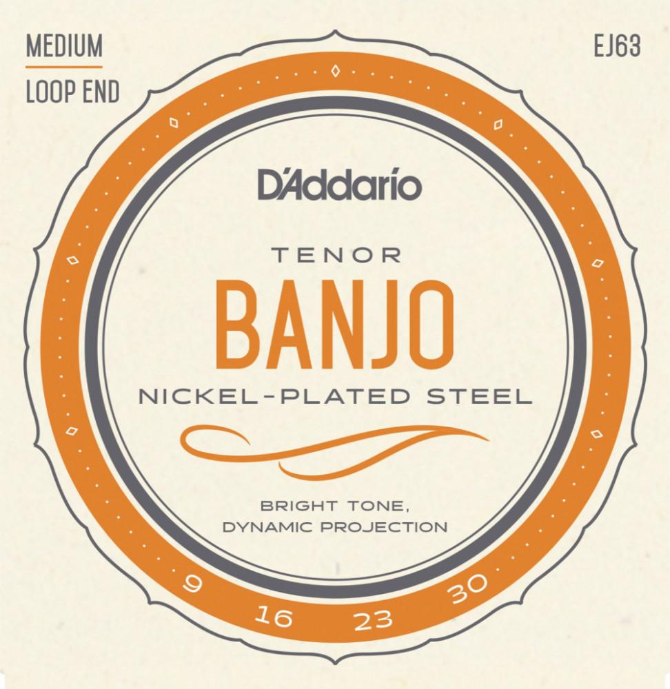 DADDARIO TENOR BANJO NICKEL EJ63