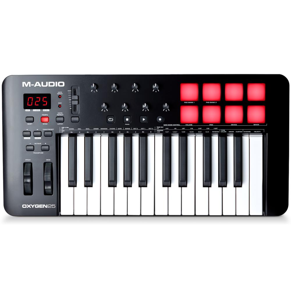 M-Audio Oxygen 25 MKV Midi Keyboard