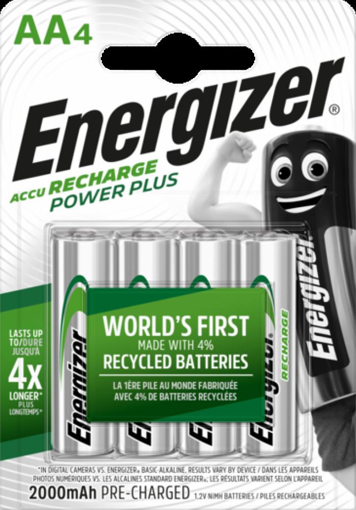 Energizer Recharge Power Plus AA 4-pack 2000mAh