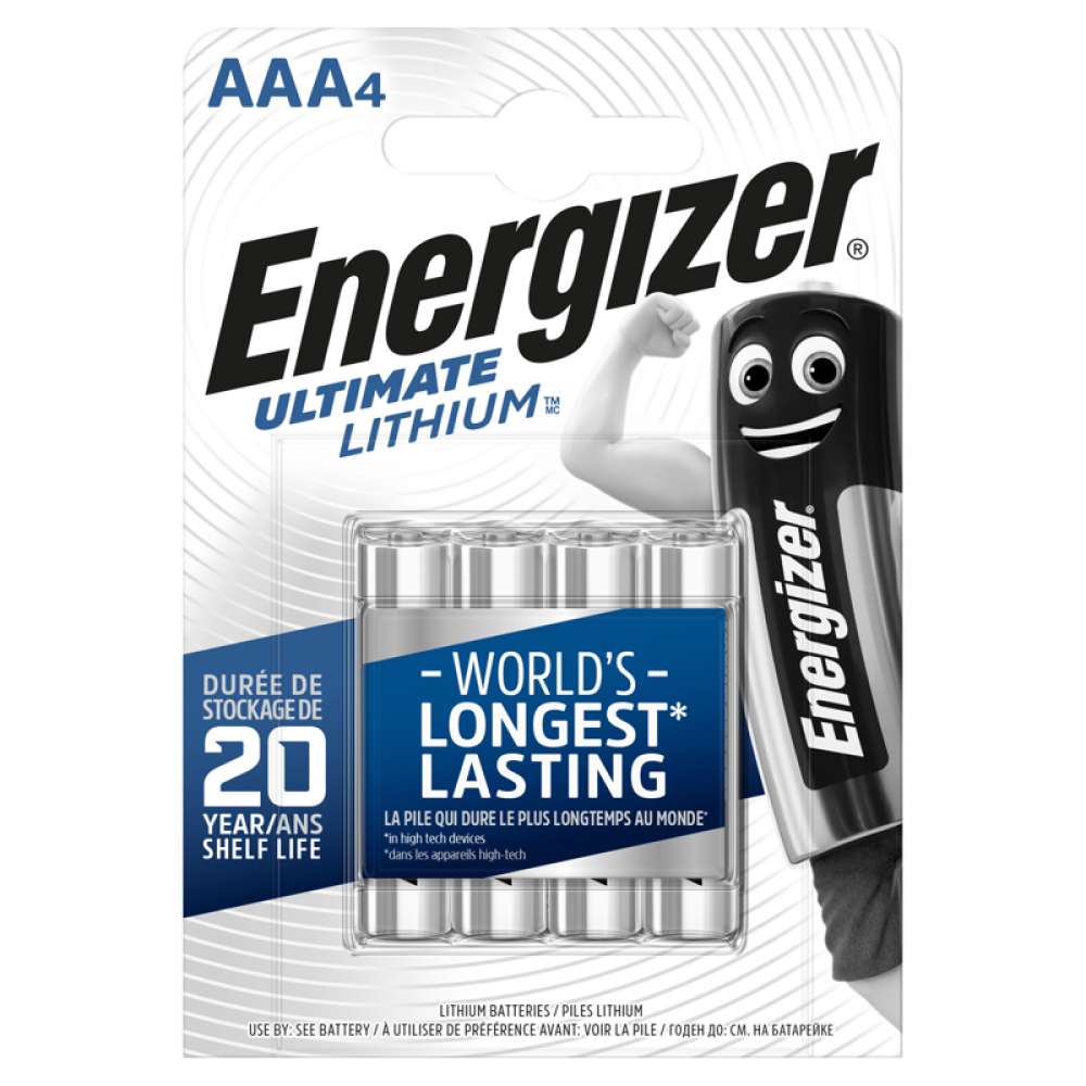 ENERGIZER Ultimate Lithium AAA 4p