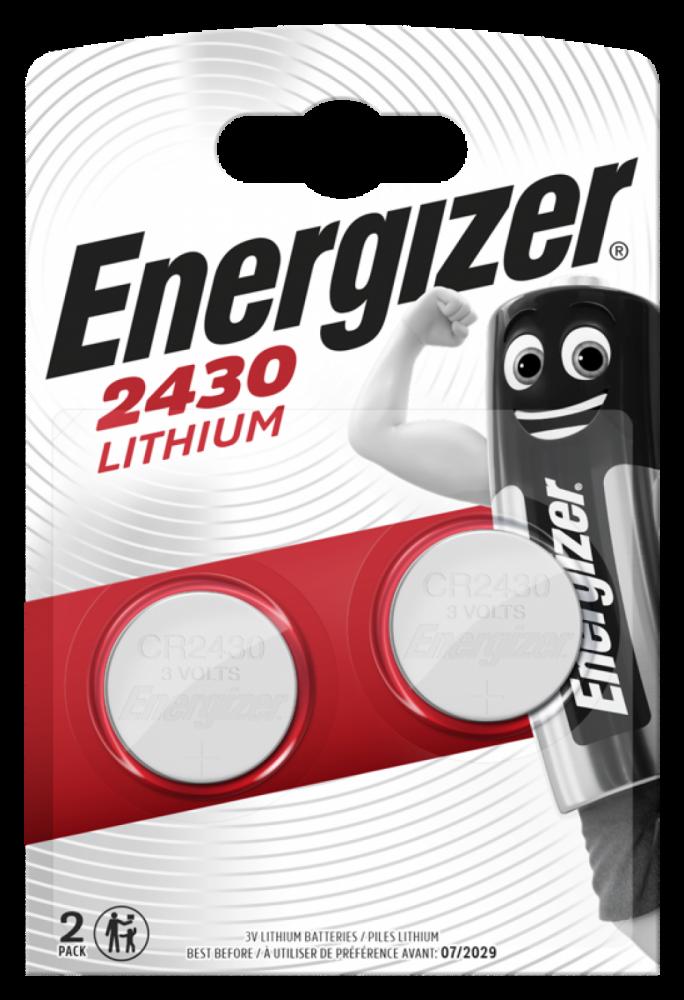ENERGIZER LITHIUM CR2430 2-pack