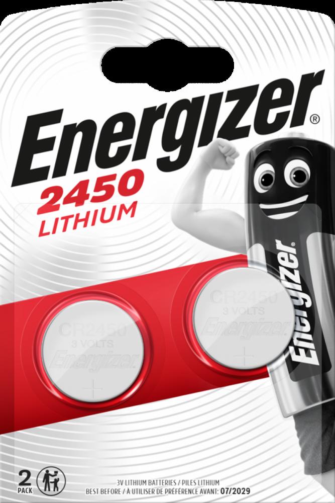 Energizer Lithium Miniature CR2450 2-pack